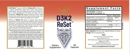 D3K2 ReSet - Vitamine D - Capsules