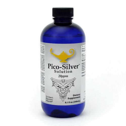 Pico-Silver Solution   Dr Dean's Pico-ion Zilver Oplossing - 240ml
