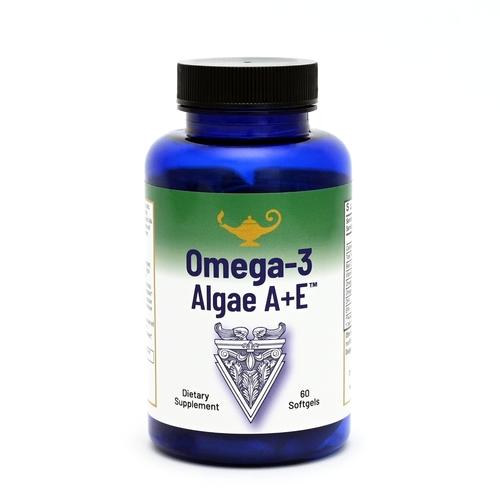 Omega-3 Algae A+E - Vegan Omega-3 Vetzuren van algen met Vitamine A+E